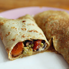 Greek Vegetable Wrap