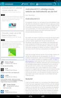 Screenshot of Androidworld: apps en nieuws