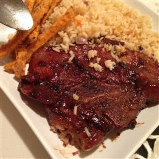 Asian Marinated Pork Chops