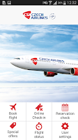 Screenshot of Czech Airlines