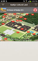 Screenshot of Baekje Cultural Land Guide