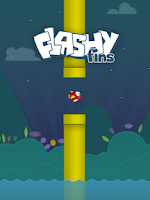 Screenshot of Flashy Fins - The Bird Fish!