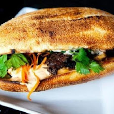 Grilled Thai Steak Sandwiches