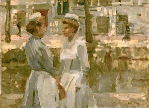 RIJKS: Isaac Israels: painting 1900