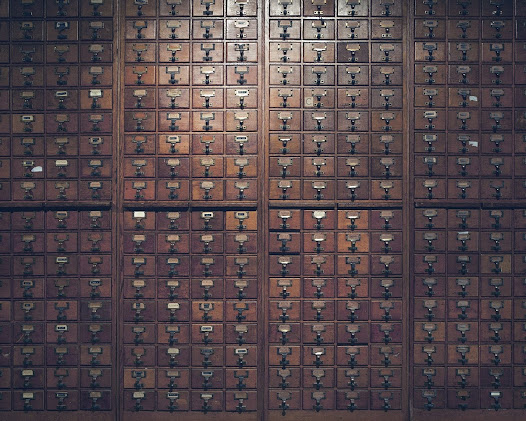 Mundaneum – Mons  File furniture containing index cards based on the system of universal decimal classification conceived by Paul Otlet and Henri La Fontaine (1895)