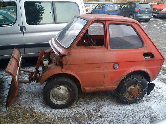 Mi már felkészültünk a havazásra! - egy vicces kép