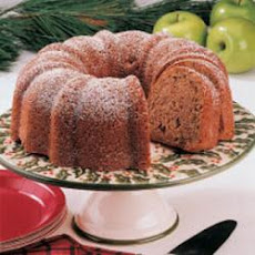 Walnut Apple Bundt Cake