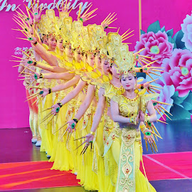 Dancers #3 by Koh Chip Whye - People Musicians & Entertainers (  )