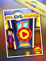 Screenshot of Girl Eye Doctor - Fun Game