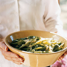 Stewed Green Beans and Poblanos