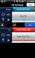 Screenshot of Hong Kong MTR & Light Rail