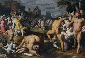 RIJKS: Cornelis Cornelisz. van Haarlem: The Massacre of the Innocents 1590
