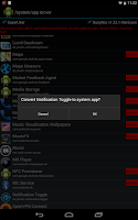 Screenshot of /system/app mover ★ ROOT ★