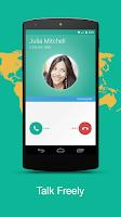 Screenshot of Talkray - Free Calls and Text