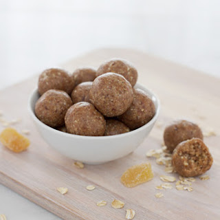 Ginger No-Bake Date Balls