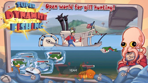 Super Dynamite Fishing Premium - screenshot