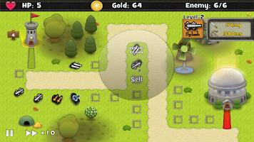 Screenshot of Tower Defense TD HD