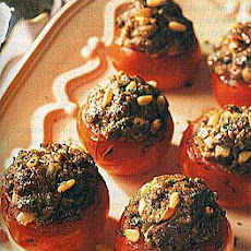 Lamb-Stuffed Tomatoes, Middle Eastern Style