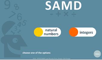 Screenshot of SAMD - The 4 operations