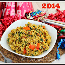 New Year Hoppin' John Good Luck Rice Pilaf
