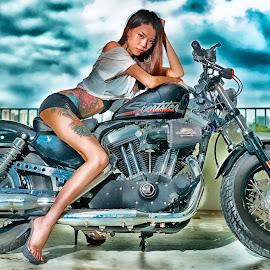 Michelle by Matthiaz Zhang - Transportation Motorcycles