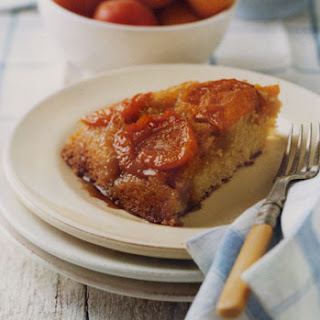 Fresh Apricot Upside-Down Cake
