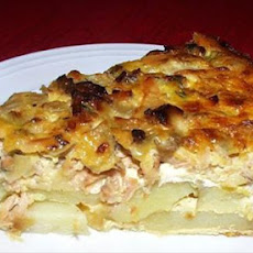 Sunday Salmon Casserole