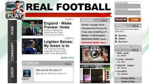 【免費體育競技App】Real Football 2012-APP點子