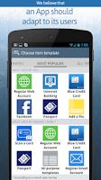 Screenshot of oneSafe   password manager