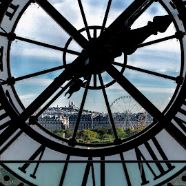 Paris from Musee d'Orsay by David Long - Buildings & Architecture Other Interior ( paris, france, musee d'orsay )