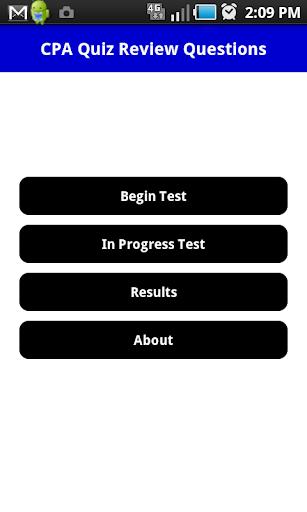 CPA Practice Exam