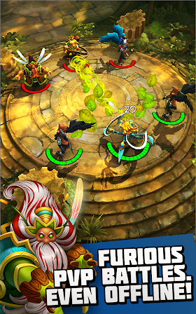 Etherlords 1.4.0.37327 (Mod Money) APK