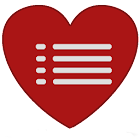 Heart Blood Pressure Log Full icon