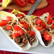 Turkey Taco Endive Boats