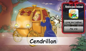 Screenshot of Cendrillon