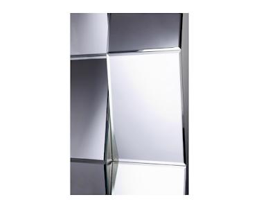 Acheter miroir design zigzag kingersheim chez crozatier for Miroir zig zag