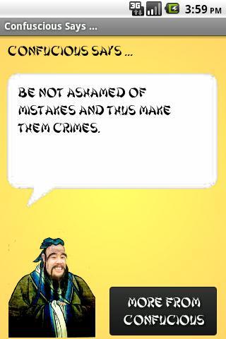 玩免費娛樂APP|下載Confucius Says ... (Ad Version app不用錢|硬是要APP