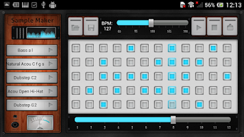 Screenshot of Sample Maker