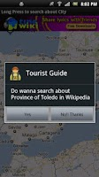 Screenshot of Wiki Tourist