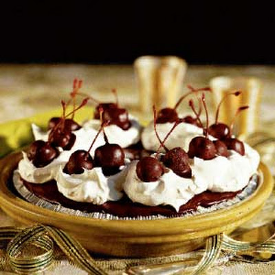 Chocolate-Covered Cherry Pie