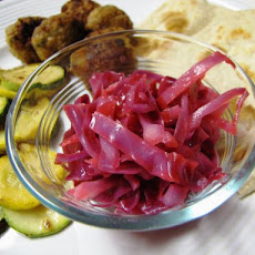 Cabbage Salad (Middle East, Palestine)