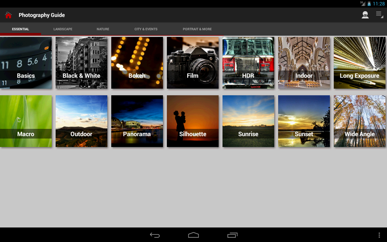DSLR Photography Training apps Screenshot 8