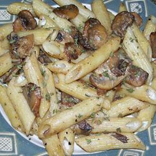 Penne with Sausage and Portobello Mushrooms