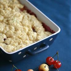 Sour Cherry Crumble Recipe | Yummly