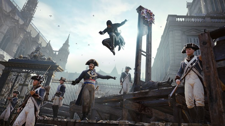 The latest patch for Assassin's Creed: Unity is a whopper, especially for some on Xbox One