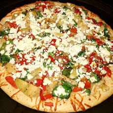 Pepper, Onion & Feta Pizza