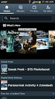 Screenshot of Media Hub Samsung (AT&T)