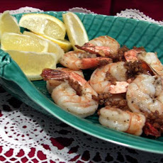 Garlic White Pepper Prawns