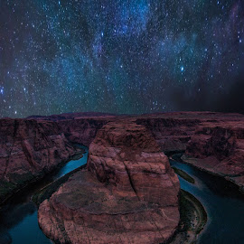 HorseShoe bend by Shalabh Sharma - Landscapes Caves & Formations