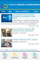 Screenshot of EURAXESS BIH WebDroid